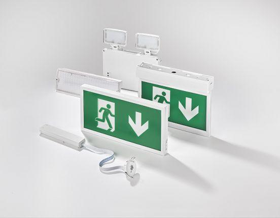 Accessoires pour bloc d'éclairage de sécurité à tranche Salvus